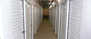 Santa Cruz Premier Self Storage Facility. Storage Facility Interior